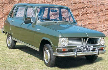 Renault 6. 1968.
